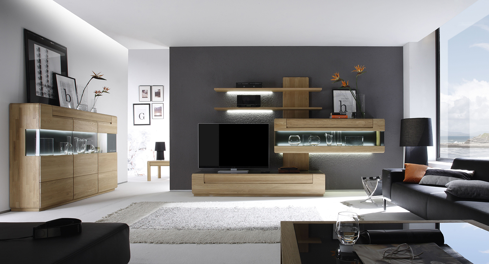 wohnzimmer treitinger m belhaus. Black Bedroom Furniture Sets. Home Design Ideas
